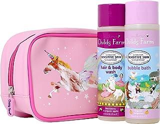 Childs Farm Unicorn 奢华洗澡袋,含250毫升 Giftset