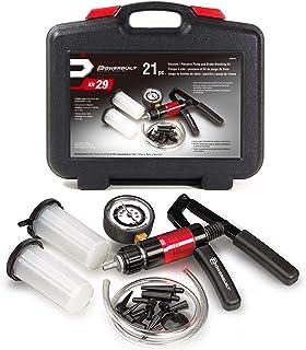 Powerbuilt 648744 真空泵套装,带软管、塑料储存器和塑料适配器