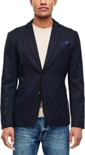 s.Oliver RED 标签男士常规:斜纹休闲夹克