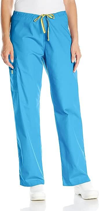 wonderwink 女式 ORIGINS SIERRA 款刷手衣裤子 Malibu Blue Small