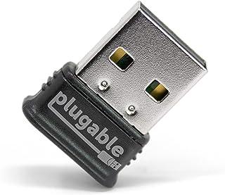 可插头 USB 蓝牙 4.0 低能耗微型适配器(Windows 10、8.1、8、7、覆盆子 Pi、Linux 兼容;经典蓝牙和立体声耳机兼容)