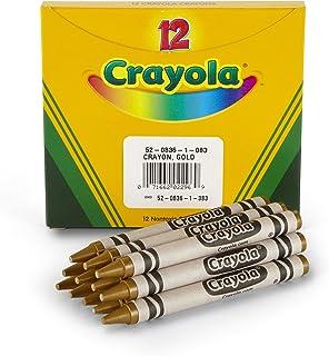 Crayola 散装蜡笔金色 1-包每包 1 条 金色