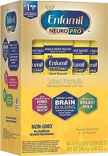 Enfamil 美赞臣铂睿 NeuroPro 婴儿配方奶粉,14 包单份装(每包 17.6 克)