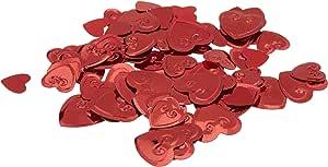 红心五彩纸屑 红色 均码 CN116