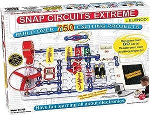 Elenco埃伦克 STEM科学益智玩具 Snap Circuits SC-750 电路探索套装