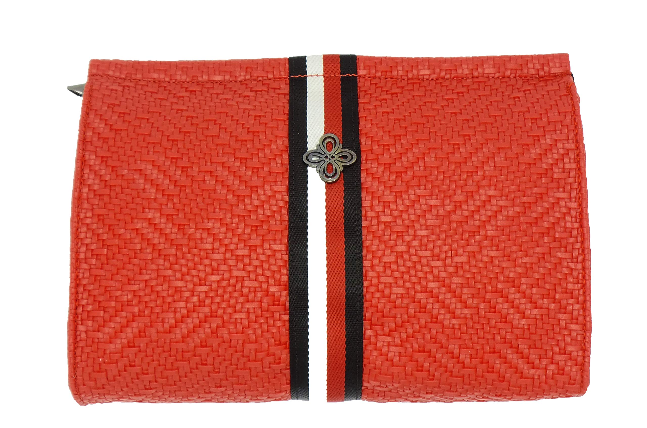 女式斜挎包、钱包和手提包,时尚潮流编织手肩包带和多口袋购物篮袋