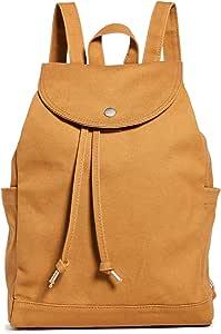 BAGGU 抽绳背包,耐用时尚,适合日常必需品 棕色(Nutmeg)