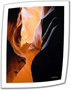 Art Wall Slot Canyon VII 32 by 24-Inch Unwrapped Canvas Art by Linda Parker with 2-Inch Accent Border