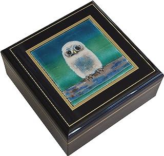 彩光舍 七宝烧 种类:正角宝石盒490g 12.5×12.5×7.5cm 021-04