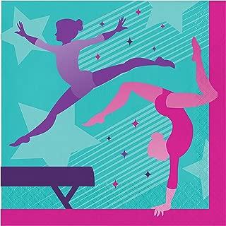 体操派对餐巾纸,16 片