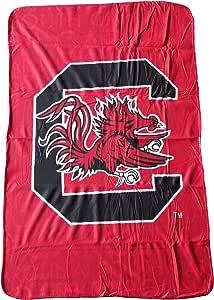 NCAA 062719 南卡罗来纳州羊毛毯 - 101.60 cm x 152.40 cm