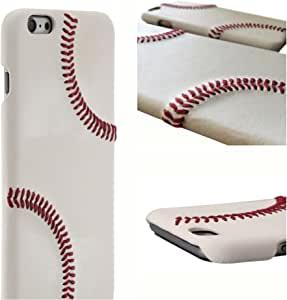 iPhone 6/6S/7/8-6/6S/7/8 Plus & iPhone X 棒球手机壳 - 采用 MLB/Pro 棒球皮革制成,凸起的缝合,超薄,保护性握把苹果手机壳4326772982 iPhone 6 Plus and 6s Plus iPhone 6 Plus and 6s Plus White