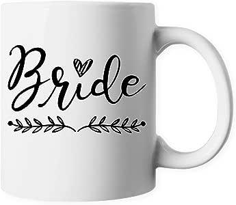 ELEPHIELD 婚礼庆祝仪式复古派对陶瓷咖啡杯茶杯 新娘