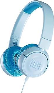 JBL 面向儿童 耳机 搭载音量控制功能/自定义贴纸JBLJR300BLU 有线型