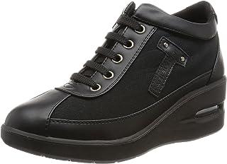 [塔比尤里] [旅日和] 楔形鞋底 绑带 舒适 鞋 女士