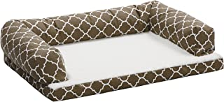 Quiet Time Teflon Brown Ortho Sofa Dog Bed 棕色 36x54