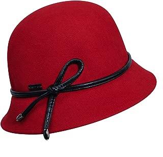 Betmar 女式 Cristina 粘合渔夫帽 红色 One Size