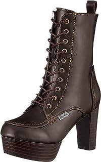 [YOSUKE] 厚底系带短靴 厚底系带短靴 女士 2600822