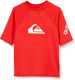 Quiksilver All Time-Lycra SS UPF 50 男童,2-7,短袖