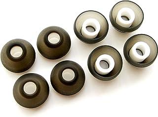 8 个大号(L)人体工程学舒适替换套装耳塞适用于 Sennheiser IE 系列、CX 系列、CXC 系列、CXL 系列、OCX 系列和 MM 系列耳塞耳机