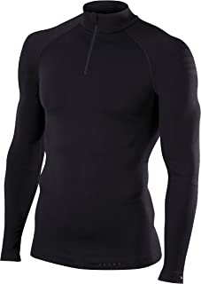 FALKE 男式保暖拉链衬衫紧身