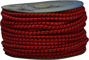 Corderie Italiane 6005100-00 弹力Braid,6 - MT,红色