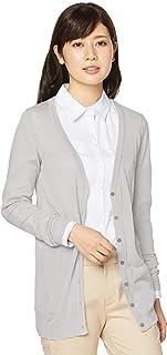 V领长款针织开衫(S~4L) MS-346