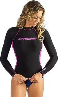 Cressi 女式长袖防震防护罩,游泳、冲浪、潜水的成人*衣 - Cressi:质量自 1946 年