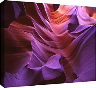 ArtWall Dean Uhlinger 'Ancient Canyon' Gallery-Wrapped Canvas Artwork, 24 by 32-Inch