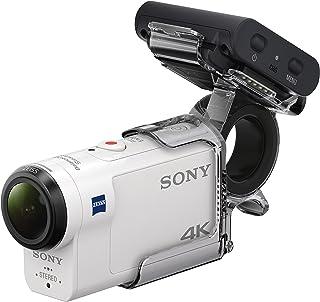索尼 FDR X3000R 4 K Action Cam with Boss (Exmor R CMOS 传感器;Carl Zeiss Vario-Tessar 外观,GPS,WiFi,NFC)