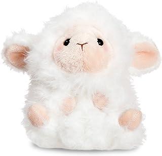 Aurora World 08821 5 英寸 Lyssa Lamb 填充玩具