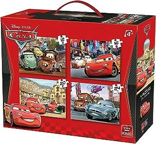Disney 汽车总动员 4 盒拼图 3 岁+King