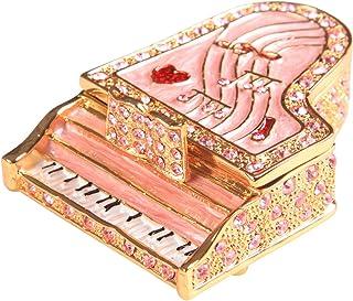 PIEARTH 首饰盒 三角钢琴B(粉红) 378-1