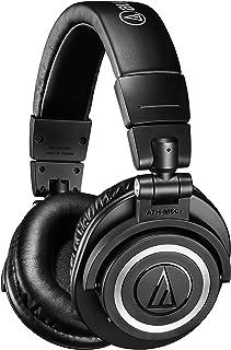 Audio-Technica 铁三角 ATH-M50xBT 无线蓝牙头戴式耳机,黑色