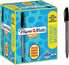 Paper Mate InkJoy 100ST 圓珠筆| 中點(1.0mm)| 黑色| 100支