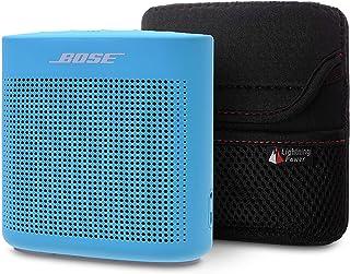 TXEsign 氯丁橡胶莱卡拉链手提包适用于 Bose SoundLink Color II 2 蓝牙无线扬声器
