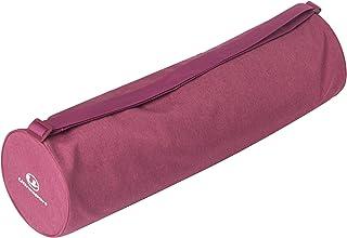 超弹力裤 瑜伽垫包 大尺寸 带小物品口袋 方便拿取的拉链全开型 粉色