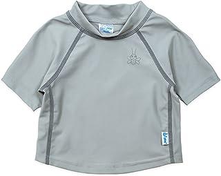 i play。 婴儿和学步儿童短袖标识*衬衫
