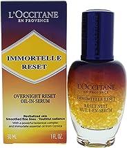 L'OCCITANE Immortelle 夜间修复精华液,1 液 盎司