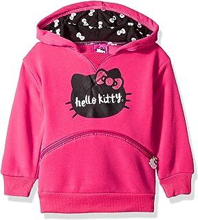Hello Kitty 女童图案连帽衫