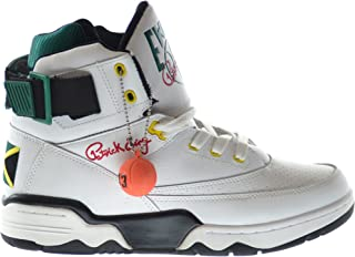 "Ewing 33 Hi ""Jamaica""男式篮球鞋 白色/黑色/红色/黄色 1vb90014-112"