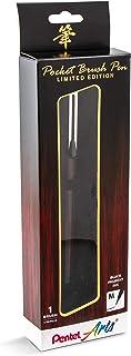 Pentel Arts 限量版袖珍刷,墨水笔,红褐色包装 (GFKP3F2BPA)