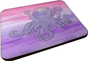 Caroline's Treasures BB7424FC 章鱼水彩装饰杯垫,3.5,多色