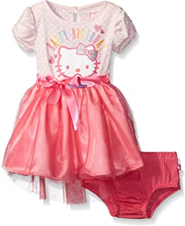 Hello Kitty Baby Girls' Happy Birthday Tutu Dress
