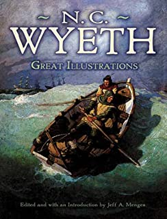 Great Illustrations by N. C. Wyeth (Dover Fine Art, History of Art) (English Edition)