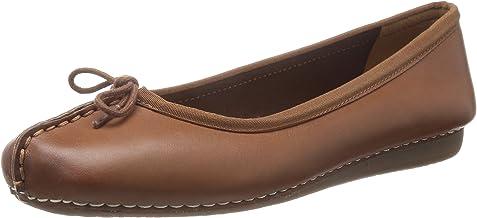 Clarks 女 平底鞋Freckle Ice 203544554
