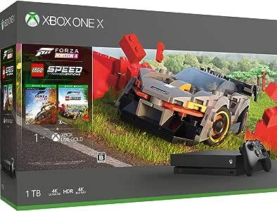 Xbox One X (Forza Horizon 4 / Forza Horizon 4  LEGO   Speed Champions 同梱版)