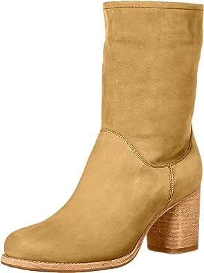 FRYE 女士 Addie 中筒靴 沙色 7.5 M US