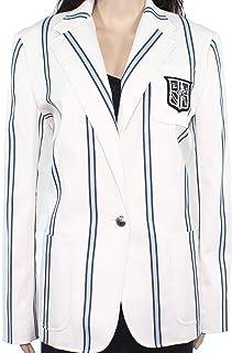 Ralph Lauren 竖条纹胸部口袋西装独立运动夹克