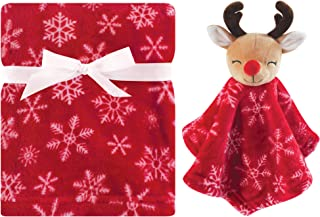 Hudson Baby 毛绒毯和动物*毯套装 驯鹿 均码